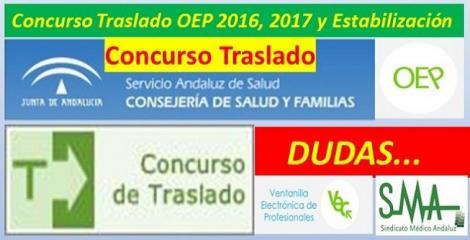 Información sobre la inscripción al Concurso de Traslados.