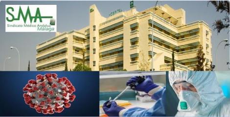 El Sindicato Médico de Málaga denuncia que una doctora se incorpora hoy a su puesto de trabajo sin saber si tiene el coronavirus.