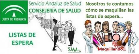 Así maquilla la Junta de Andalucía las listas de espera.
