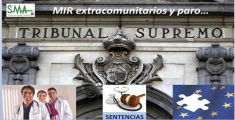 El Supremo dicta que los MIR extracomunitarios tienen derecho a cobrar paro.