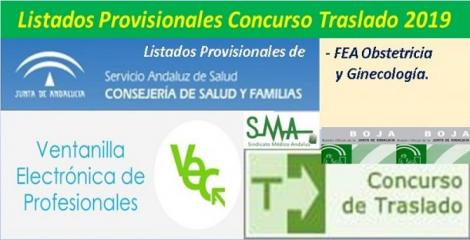 Publicada en el BOJA resolución del Concurso de Traslado 2019 con listados provisionales de FEA Obstetricia y Ginecología.
