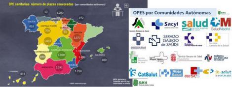 19.031 plazas sanitarias esperan fecha para su OPE.