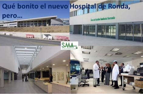 Carta Abierta a Doña Susana Díaz con motivo de la inauguración del nuevo hospital de Ronda.