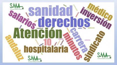 Los médicos andaluces piden más inversiones en sanidad.