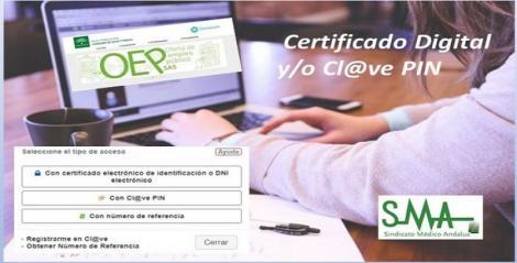 Tutoriales para obtener Certificado Digital y/o Cl@ve para acceder a la VEC del SAS.