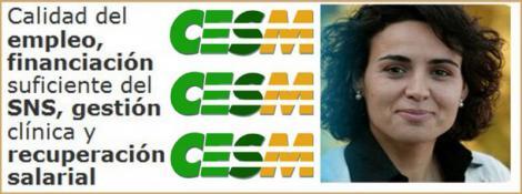 CESM recuerda a la nueva ministra lo que esperan lo médicos.