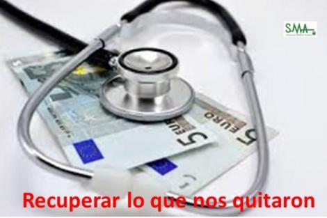 CESM reclama una subida del 10% en la sanidad pública y del 30% en la privada.