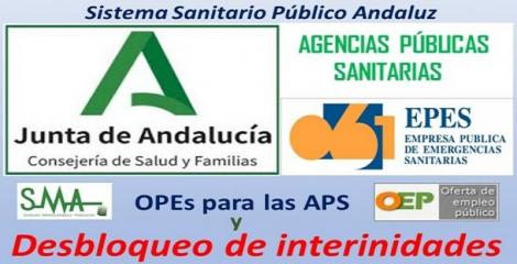 SMA exige desbloquear las interinidades en Agencias Públicas Sanitarias.