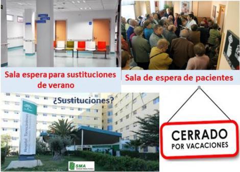 Los centros de salud de Almería capital, sin sustituciones en las vacaciones.