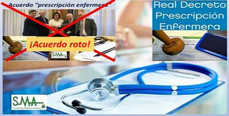 """Los médicos denuncian cambios no pactados en la 'prescripción' enfermera que """"rompen"""" su acuerdo con Enfermería y Sanidad."""