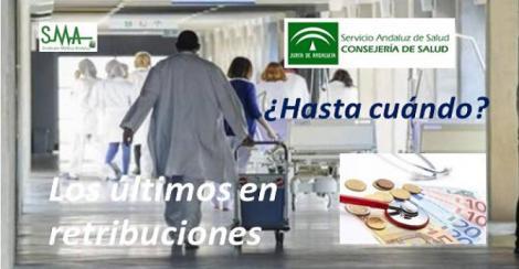 Los profesionales sanitarios de Andalucía son los peor pagados de España.