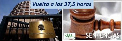 El Tribunal Constitucional suspende las 35 horas en Andalucía.