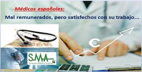 Nueve de cada 10 médicos españoles creen que deberían ganar más dinero.