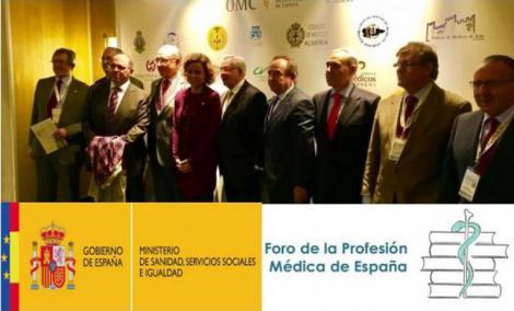Sanidad aboga por reavivar el Foro Profesional Sanitario para cumplir los Acuerdos de 2013.