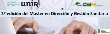 2ª edición del Máster oficial en Dirección y Gestión Sanitaria