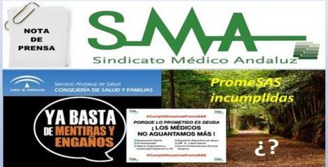 El Sindicato Médico Andaluz pide la equiparación salarial con el resto del país y anuncia un calendario de movilizaciones.