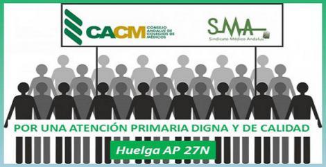 El Consejo Andaluz de Colegios de Médicos se suma a la huelga en Atención Primaria.