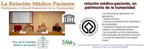 Arranca la carrera de la relación médico-paciente hacia la Unesco.