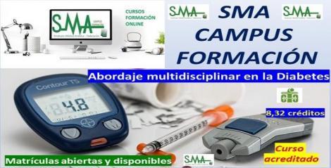 Nuevo curso de formación acreditado: abordaje multidisciplinar en la diabetes.