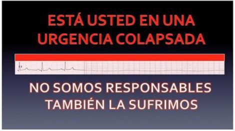 Colapso en las Urgencias del Hospital Costa del Sol.