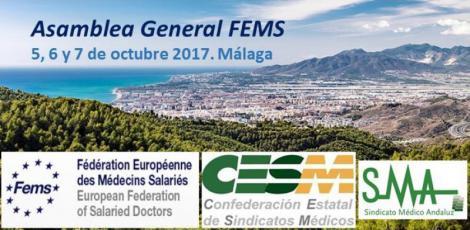 Los principales representantes de las asociaciones médicas de Europa se reúnen en Málaga.