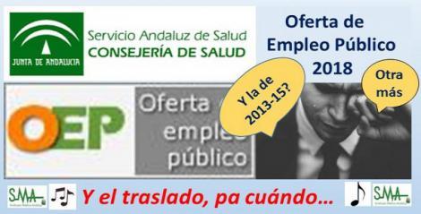 La Junta aprueba la oferta pública de empleo del Servicio Andaluz de Salud para 2018 con 709 plazas para facultativos.