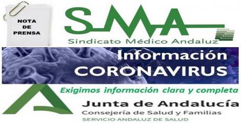 El Sindicato Médico andaluz exige al SAS información clara, completa y frecuente.
