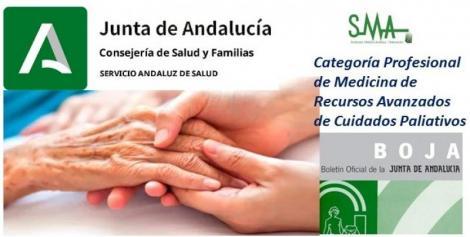 Creada la categoría profesional de Medicina de Recursos Avanzados de Cuidados Paliativos en el SAS.