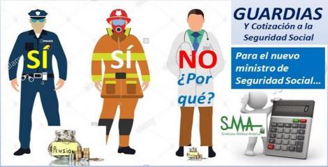 Los médicos ponemos en la  agenda del nuevo ministro de Seguridad Social la cotización de las guardias cara a la jubilación.