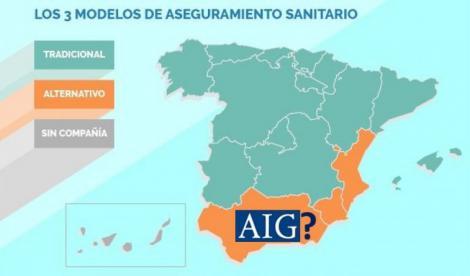 España tiene 3 modelos para asegurar a sus médicos, ¿cuál aplica cada CCAA?