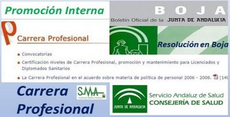 Unos 1.200 profesionales de promoción interna del SAS accederán a la carrera profesional.