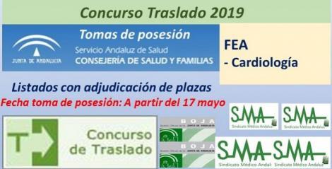 Concurso de Traslados 2019. Publicada en el Boja la resolución definitiva de FEA de Cardiología.