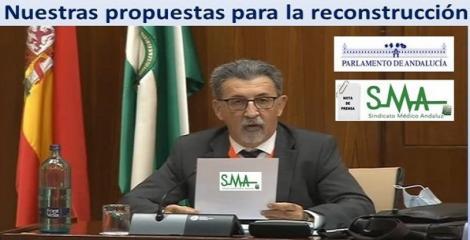 El Sindicato Médico Andaluz reclama un plan específico para pandemias y un aumento de inversión absoluta en sanidad.