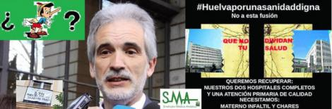 Sanidad no hará ninguna fusión en Huelva