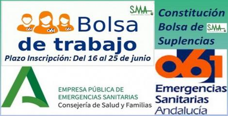 EPES-061: CONSTITUCIÓN DE LA BOLSA DE SUPLENCIAS.