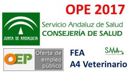 Mesa sectorial: Aprobada la OPE del SAS de 2017 con 807 plazas de FEA y 43 de Veterinarios A4.