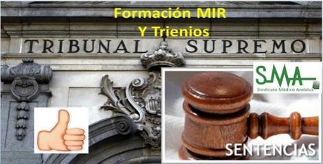 Tribunal Supremo: el periodo de formación MIR en centros sanitarios privados computa para los trienios.