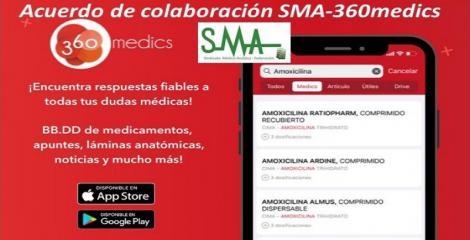 El Sindicato Médico Andaluz ha firmado un convenio de colaboración con 360 medics, app gratuita orientada al profesional sanitario.
