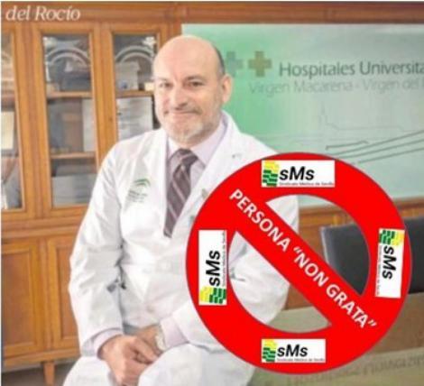 El Sindicato Médico de Sevilla declara persona