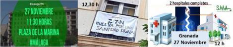 27N: tres ciudades en pie de guerra contra la fusión hospitalaria.