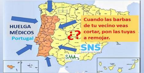Los médicos de Portugal inician una huelga de tres días.