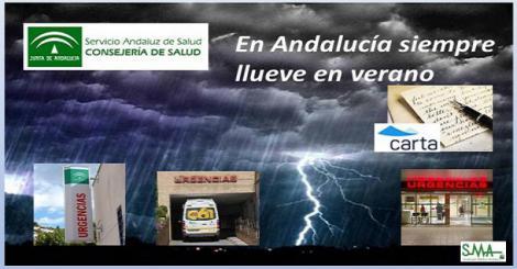 En Andalucía siempre llueve en verano.