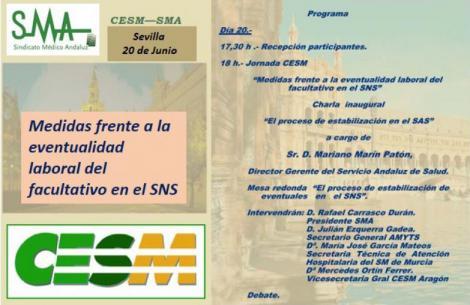 Facultativos de todo el país analizan, este martes en Sevilla, la eventualidad del Sistema Nacional de Salud.