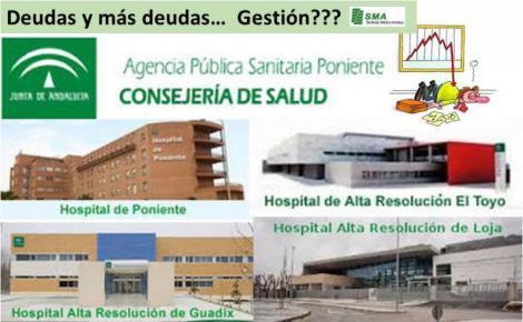 Cuatro hospitales en riesgo de cierre por las pérdidas de la Junta.