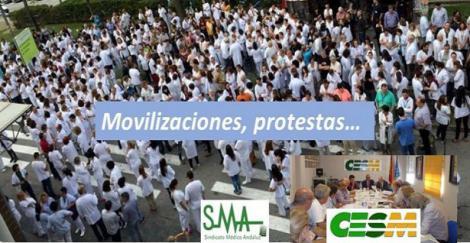 CESM plantea nuevas movilizaciones si la Administración no escucha las reivindicaciones de los médicos.