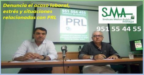 El Sindicato Médico de Málaga pone en marcha un teléfono para asistir al 'médico quemado'.