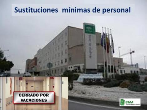 Comienzan los recortes en sustituciones de Verano en Hospitales.