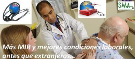 La contratación de extranjeros enfrenta a médicos y autonomías.