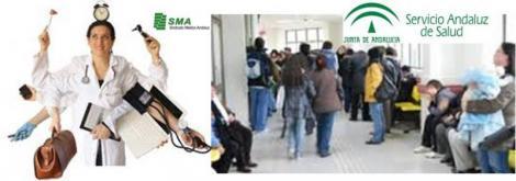 Los médicos de familia andaluces son los que más consultas diarias atienden