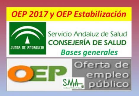 Publicadas en el Boja las bases generales de las convocatorias que han de regir los procesos selectivos de OEP 2017 y OEP de estabilización.
